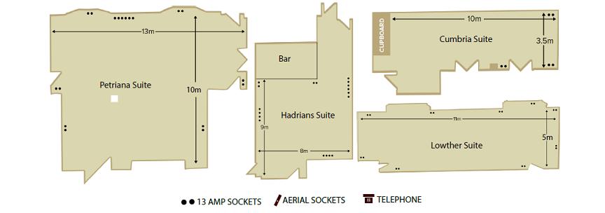 Hotel Cumbria Floor Plan